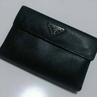 プラダ(PRADA)のPRADA サフィアーノ 折り財布(財布)