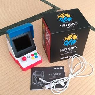 エスエヌケイ(SNK)のNEOGEO mini(家庭用ゲーム本体)