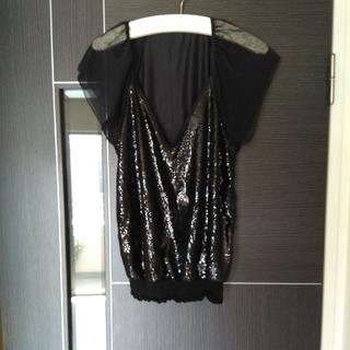 ゴーサンゴーイチプーラファム(5351 POUR LES FEMMES)の5351 POUR LES FEMMES スパンコールトップス プルオーバー(Tシャツ(半袖/袖なし))