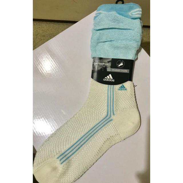 adidas(アディダス)の新品未使用 adidas レディース靴下 レディースのレッグウェア(ソックス)の商品写真