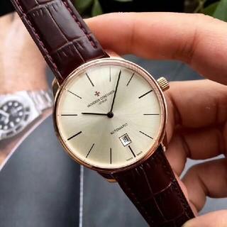 ヴァシュロンコンスタンタン(VACHERON CONSTANTIN)の大人気 バチェロンコンスタンティン メンズ腕時計(腕時計(アナログ))