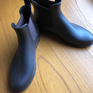 レインブーツ ブラウン 41(レインブーツ/長靴)