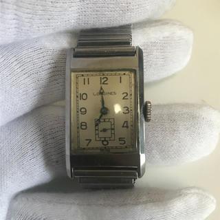ロンジン(LONGINES)のロンジン 手巻き アンティーク 可動品(腕時計(アナログ))