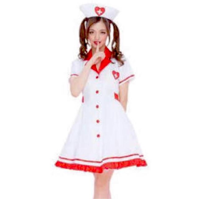 ナース 看護師 ハロウィン コスプレ コスチューム 仮装 エンタメ/ホビーのコスプレ(衣装一式)の商品写真