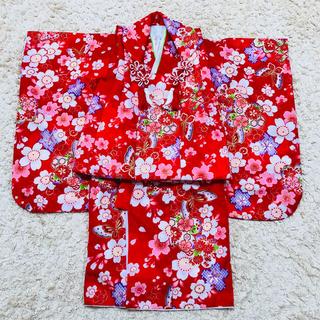 七五三 着物 3歳 女の子 被布 フルセット(和服/着物)