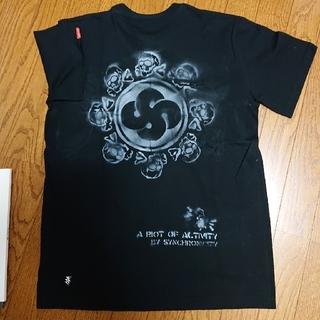シンクロニシティ(synchronicity)のSYNCHRONICITY  手刷プリントTシャツ❗(Tシャツ/カットソー(半袖/袖なし))