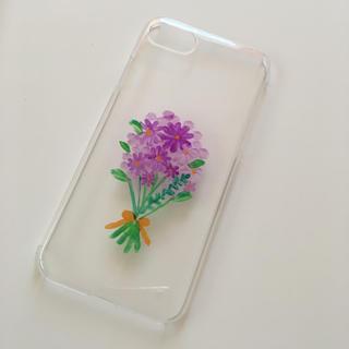 フラワー(flower)のiPhone 7 8 ハードケース(スマホケース)