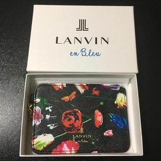 ランバンオンブルー(LANVIN en Bleu)のLANVIN en Bleu   パスケース   新品(名刺入れ/定期入れ)
