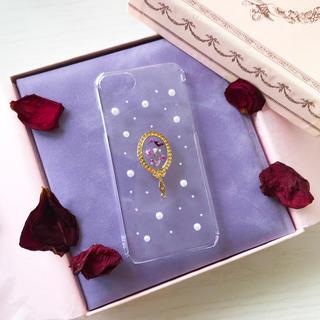 白雪姫 ハンドメイド iPhoneケース(スマホケース)