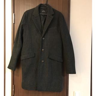 テットオム(TETE HOMME)の定価25000円 Black on テットオム チェスターコート(チェスターコート)