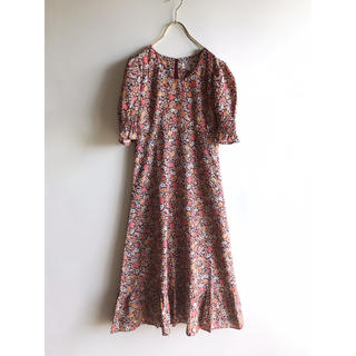65782d085a41f ロキエ(Lochie)のvintage young couture 花柄 ワンピース ヴィンテージ(ひざ丈ワンピース