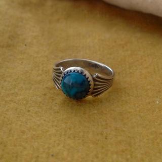 ロンハーマン(Ron Herman)の1930's antique モレンシターコイズ ピンキーリング(リング(指輪))