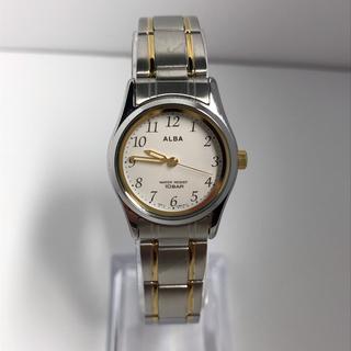 アルバ(ALBA)のSEIKO ALBA 10気圧防水(腕時計)