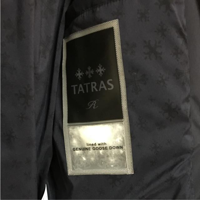 TATRAS(タトラス)の新品未使用 タトラス MA-1 ダウンジャケット メンズのジャケット/アウター(ダウンジャケット)の商品写真