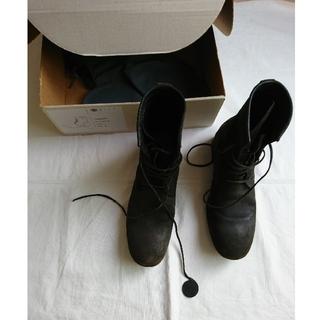 カルペディエム(C DIEM)のカルペディエム cdiem レザーブーツ 42 black(ブーツ)