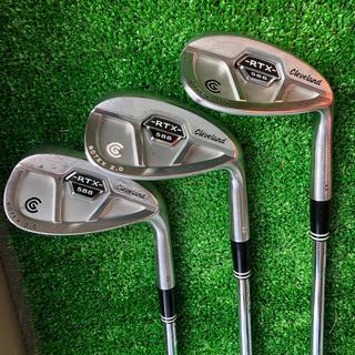 クリーブランドゴルフ(Cleveland Golf)のクリーブランド ウェッジ3本セット(クラブ)