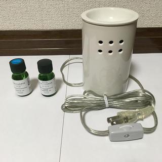 ムジルシリョウヒン(MUJI (無印良品))の無印良品 アロマウォーマー アロマランプ(アロマポット/アロマランプ/芳香器)