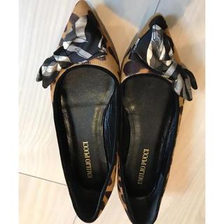 エミリオプッチ(EMILIO PUCCI)のエミリオプッチPUCCIバレエシューズ今期流行レオパード靴(バレエシューズ)