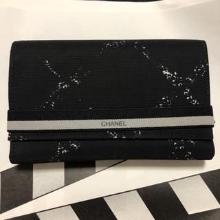 シャネル(CHANEL)のシャネル 旧トラベルライン三つ折り財布 未使用 レア 美品 ギャランティー有り(財布)