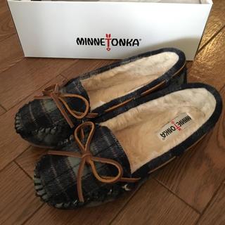 ミネトンカ(Minnetonka)の【新品】ミネトンカ モカシン(スリッポン/モカシン)