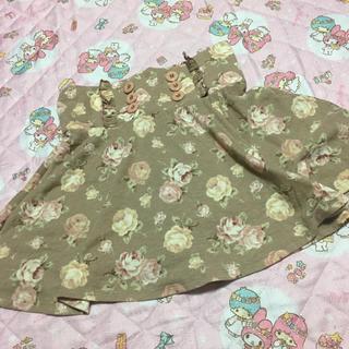 リズリサ(LIZ LISA)のLIZLISAローズスカート(ミニスカート)