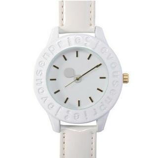 ジュヴゾンプリ!(jevous enprie!)の【ゆなお。様専用】ジュヴゾンプリ  腕時計  ホワイト(腕時計)