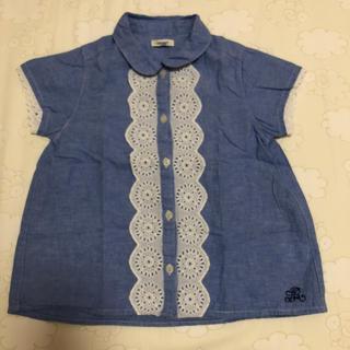 セラフ(Seraph)のセラフ半袖シャツ  130センチ(ブラウス)