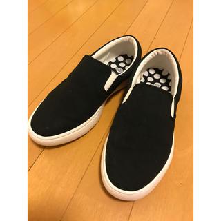 マリメッコ(marimekko)のマリメッコ ユニクロ 靴 スリッポン 24cm(スリッポン/モカシン)