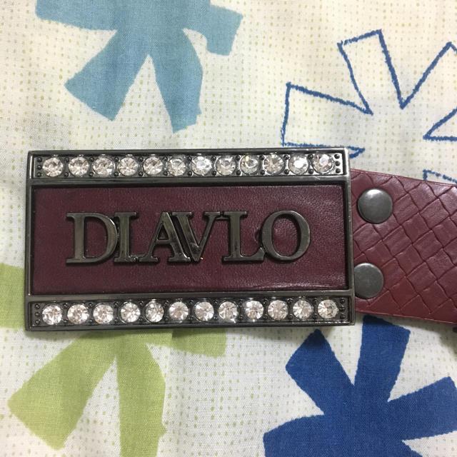 Diavlo(ディアブロ)のDIAVLO メンズのファッション小物(ベルト)の商品写真
