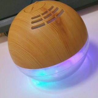 ムジルシリョウヒン(MUJI (無印良品))の加湿器 空気清浄機 LEDイルミネーション(加湿器/除湿機)
