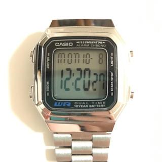 カシオ(CASIO)のカシオ シルバー(腕時計(デジタル))