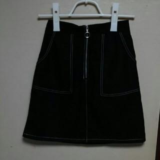 シマムラ(しまむら)の【新品未着用】しまむら台形ミニスカート(ミニスカート)
