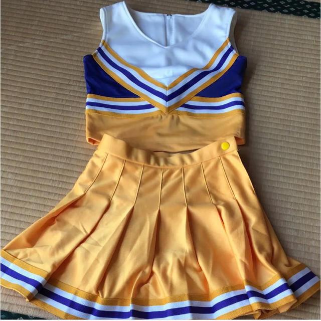 チア ユニフォーム エンタメ/ホビーのコスプレ(衣装)の商品写真