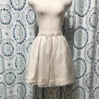 マーキュリーデュオ(MERCURYDUO)のシアーギャザースカート(ミニスカート)