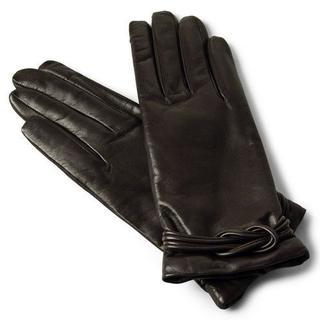 トゥモローランド(TOMORROWLAND)のPIERO TUCCI ラムスキン手袋ダークブラウン 7.5 新品・未使用(手袋)