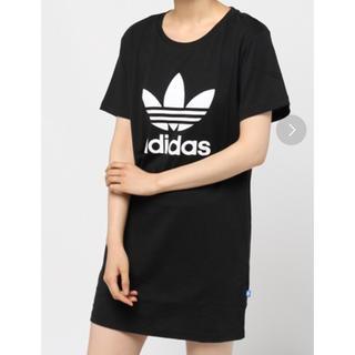 アディダス(adidas)のadidas Tシャツ  ブラック(Tシャツ(半袖/袖なし))