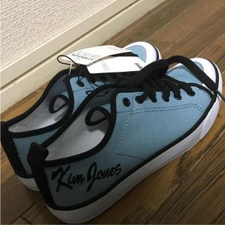 ジーユー(GU)のGU 靴  25cm スニーカー キムジョーンズ  KIM JONES ブルー(スニーカー)