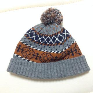 ムジルシリョウヒン(MUJI (無印良品))のキッズ帽子50〜52cm(その他)