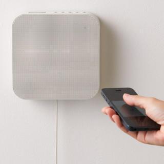 ムジルシリョウヒン(MUJI (無印良品))の壁掛式Bluetoothスピーカー 2個(スピーカー)
