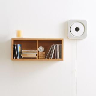ムジルシリョウヒン(MUJI (無印良品))の無印良品 壁掛け式 CDプレイヤー 2個(ポータブルプレーヤー)