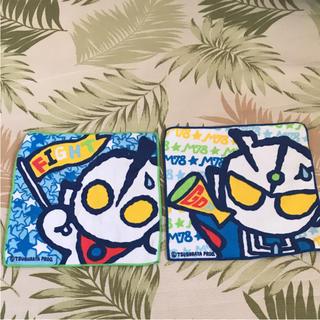バンダイ(BANDAI)の新品 ウルトラマン ハンカチタオル 二枚組(タオル)