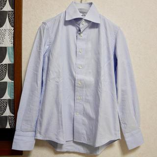 フォーティファイブアール(45R)の未使用品 45R オックスフォードシャツ ブルー サイズ1 (シャツ/ブラウス(長袖/七分))