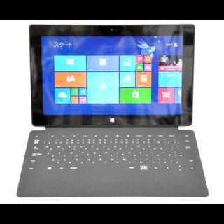 マイクロソフト(Microsoft)のマイクロソフトオフィス付 サーフェス本体とキーボード(ノートPC)
