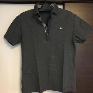 BURBERRY BLACK LABEL - ほぼ未使用 バーバリー ブラックレーベル 2 M  BURBERRY ポロシャツ