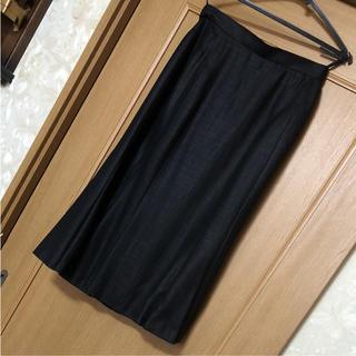 パコラバンヌ(paco rabanne)のメ863  品のあるPACO スカート 日本製 11号(ひざ丈スカート)