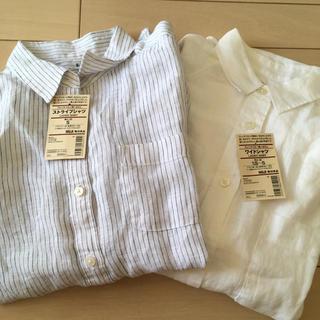 ムジルシリョウヒン(MUJI (無印良品))の無印 長袖シャツ 2枚セット(シャツ/ブラウス(長袖/七分))