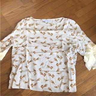 カレンウォーカー(KAREN WALKER)のカレンウォーカー Midwest購入 鳥柄レアブラウス(シャツ/ブラウス(長袖/七分))