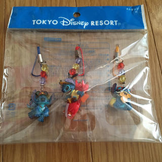 Disney - スティッチ ストラップ