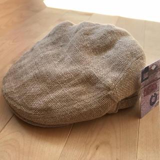 富樫様 ハンチング帽 新品未使用(ハンチング/ベレー帽)