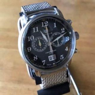 ツェッペリン(ZEPPELIN)の新品✨ツェッペリン グラーフ GRAF メンズ クロノ 腕時計 7686M-2(腕時計(アナログ))